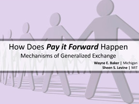 How Pay it Forward Happens 2