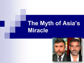 The Myth of Asia's Miracle – Krugman & Productivity